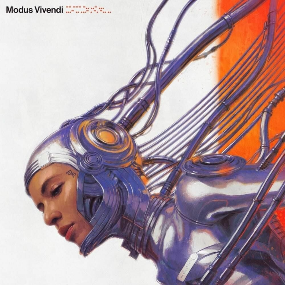 Pochette de l'album Modus Vivendi (2020) de l'artiste 070 Shake.