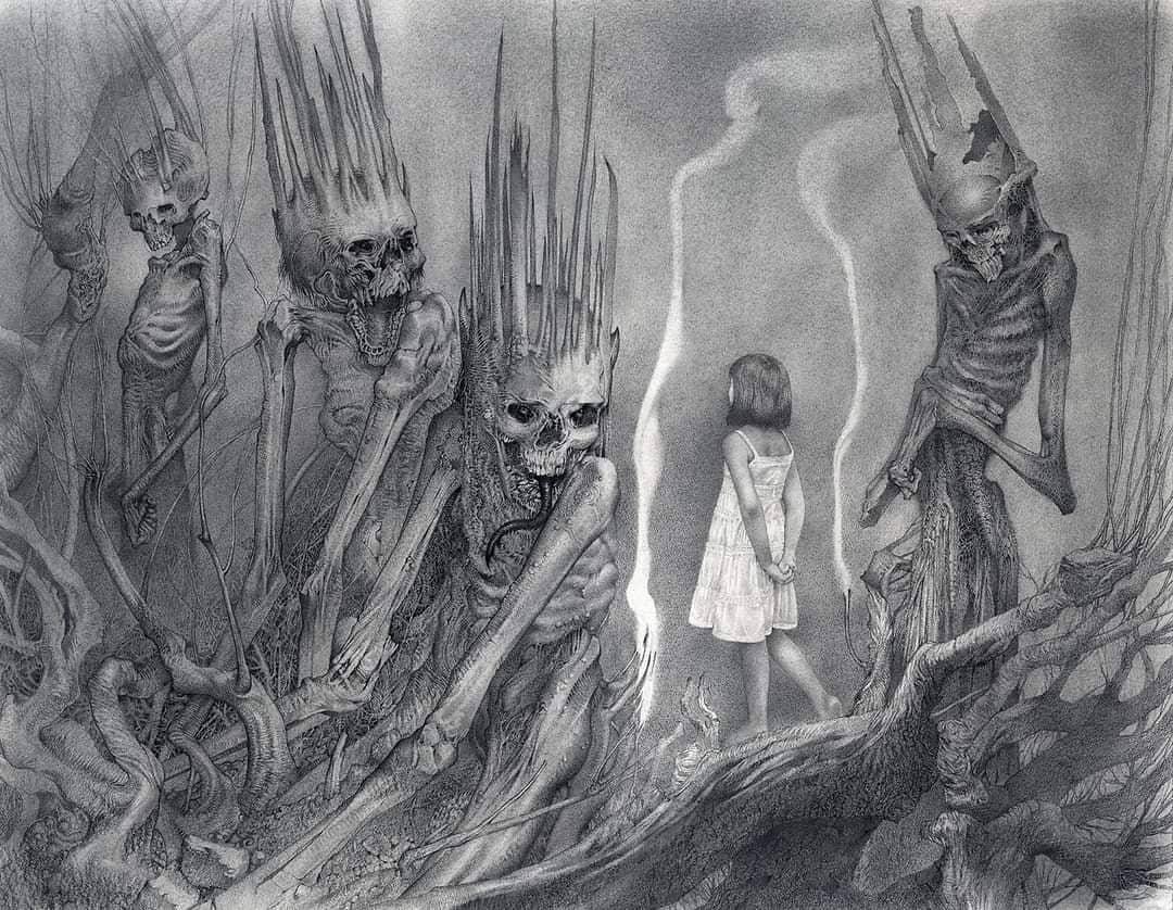 Illustration réalisée par le concept artist américain Allen Williams
