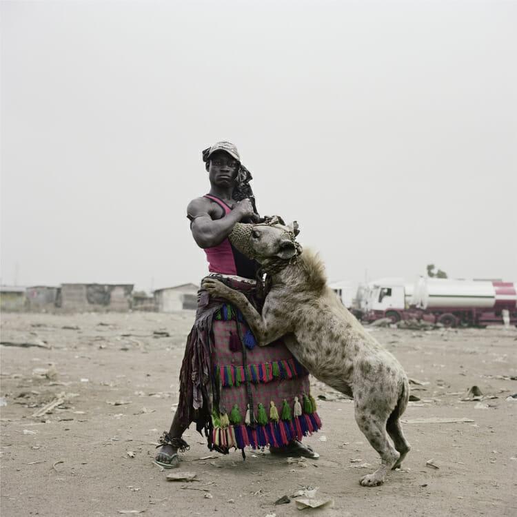 Abdullahi Mohammed with Mainasara, Ogere-Remo, Nigeria, 2007 par Pieter Hugo