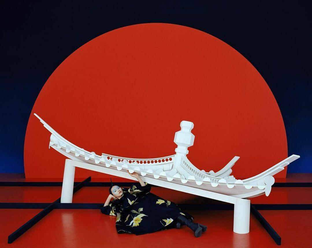 Réalisée par le photographe chinois Leslie Zhang