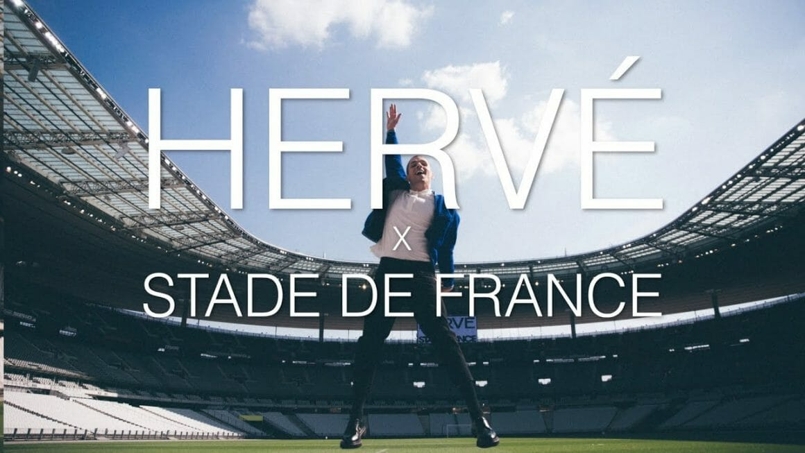 Photo évènementielle de Hervé au Stade de France.
