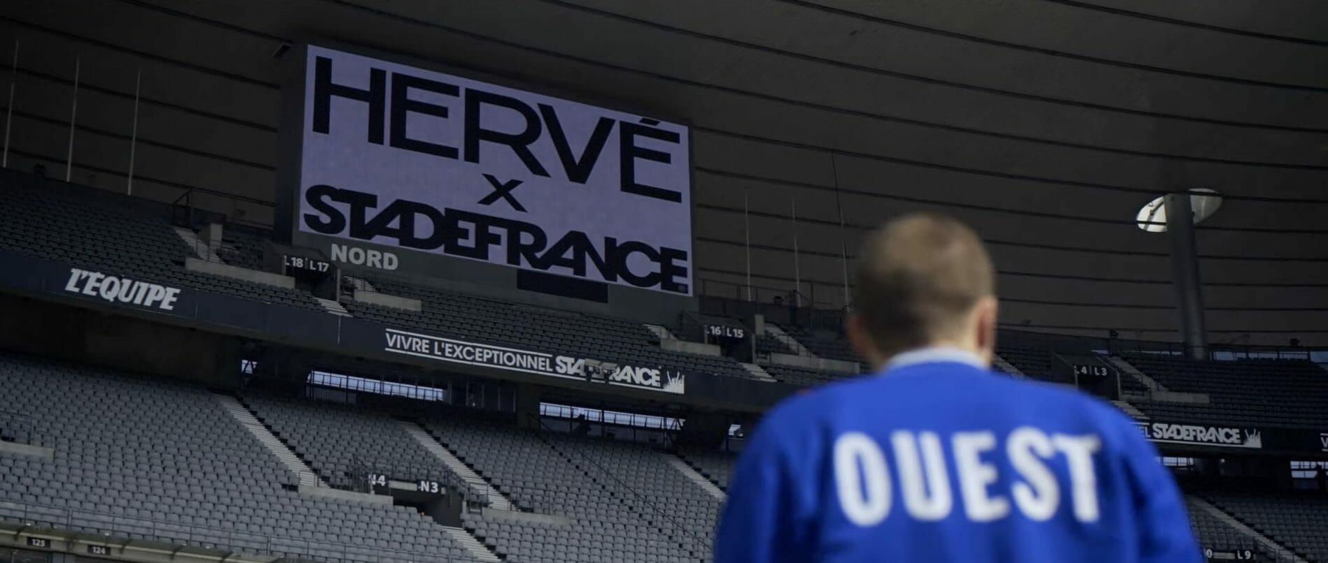 """""""Si bien du mal"""" : la live session d'Hervé au Stade de France 1"""