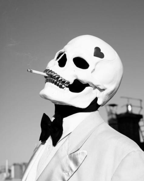 "portrait de vladimir cauchemar illustrant son EP ""Brrr EP"""