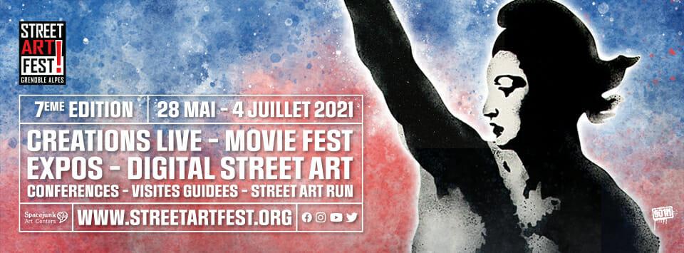 Affiche Le Street Art Fest.