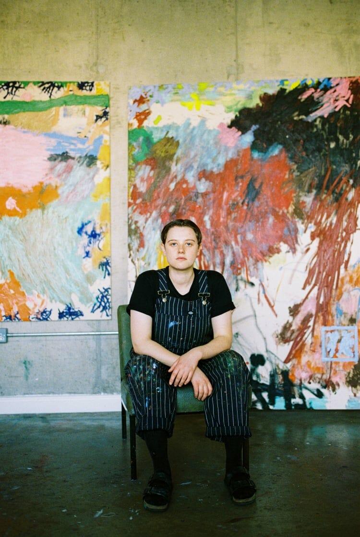 Daisy Parris, portrait par Brynley Davies (2020)