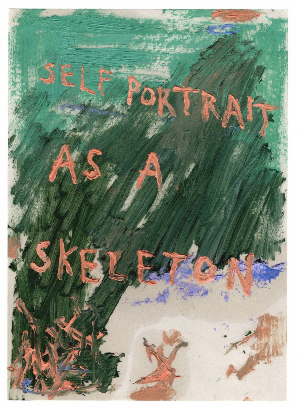 Self portrait is a skeleton