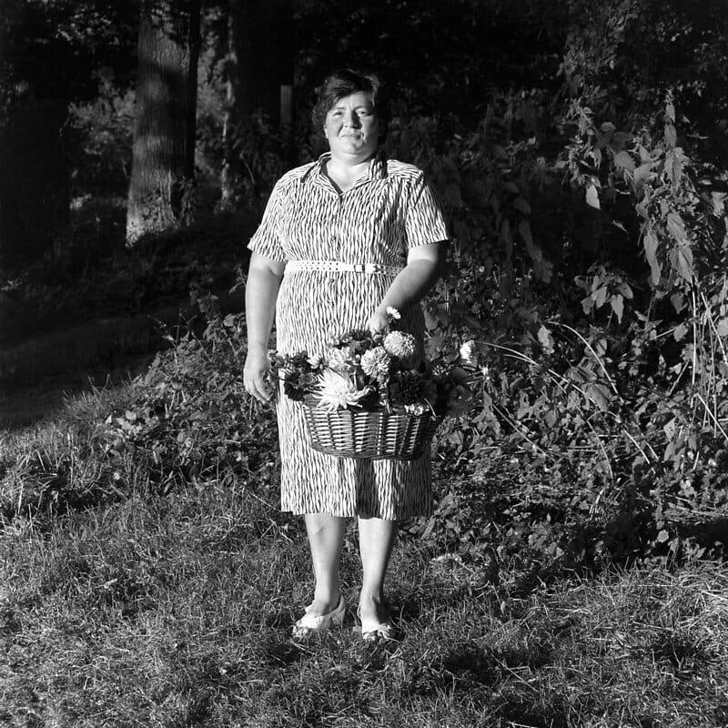 Photographie d'une paysanne.