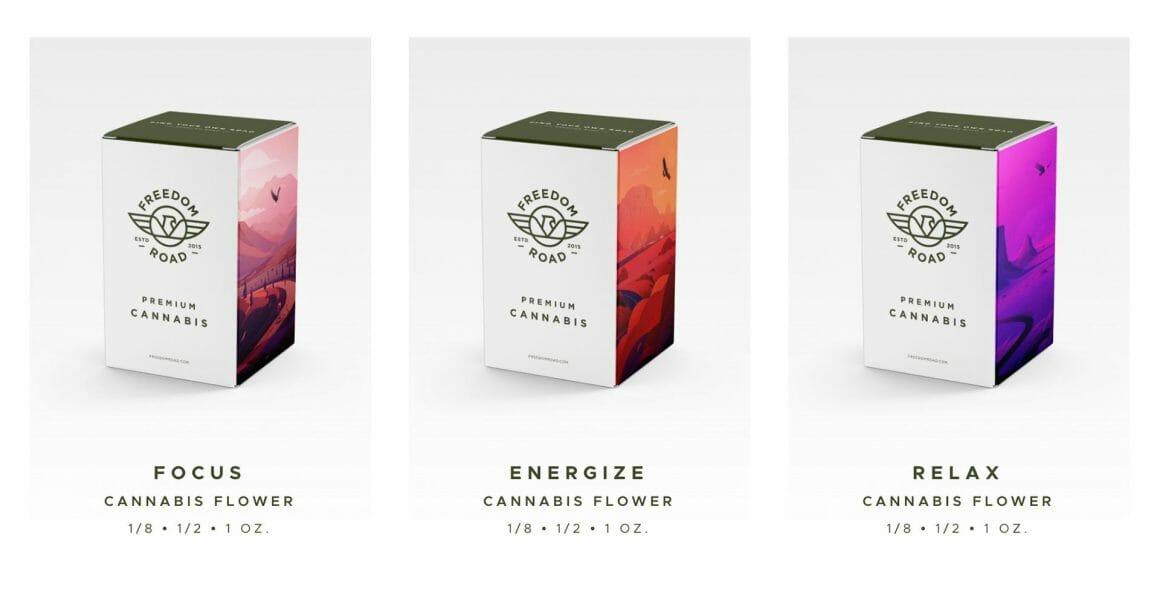 Boîtes du  Freedom Road Brand Project de Febin Raj