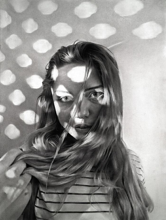 Portrait très réaliste fait par Dylan Andrews