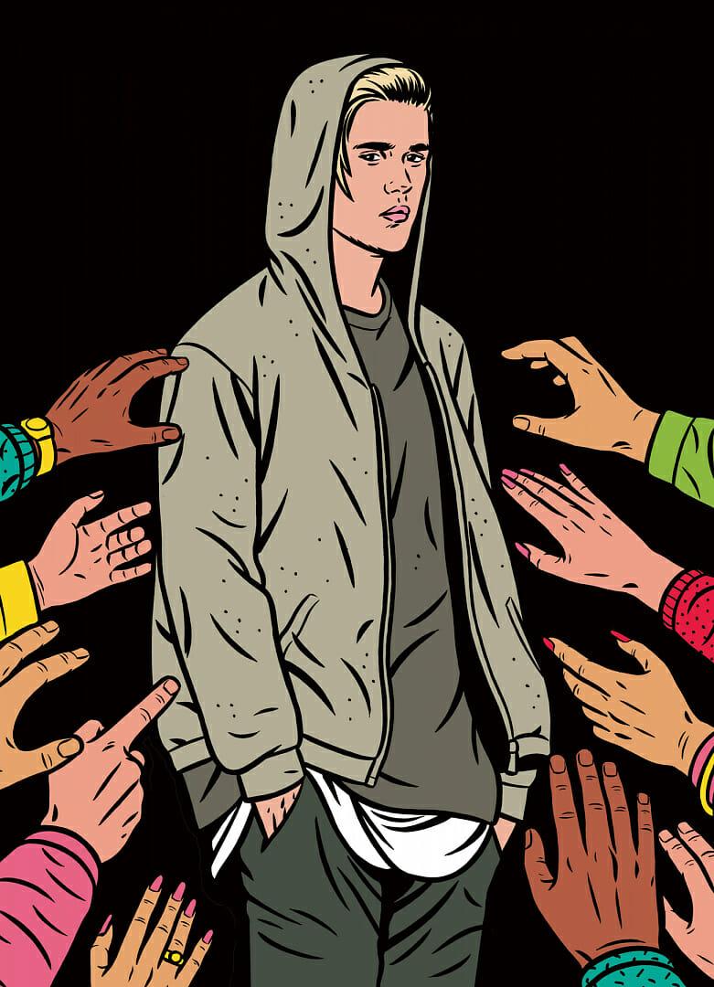 Illustration de Justin Bieber