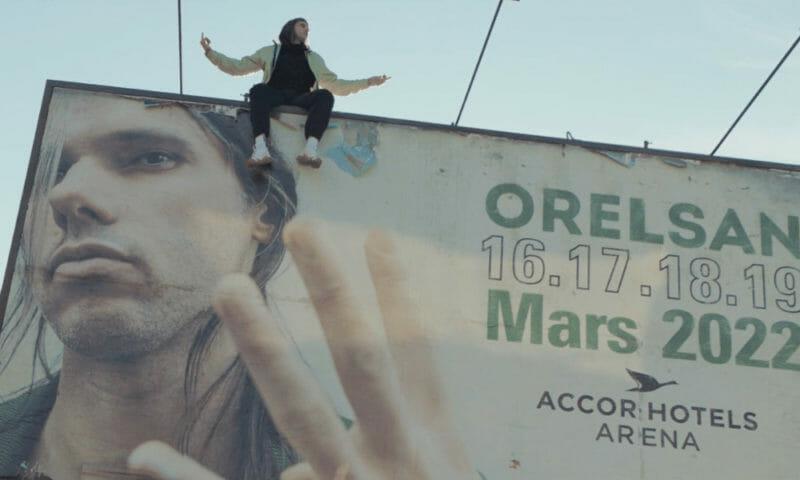 Photographie du clip de Ninho annonçant les dates de Orelsan.
