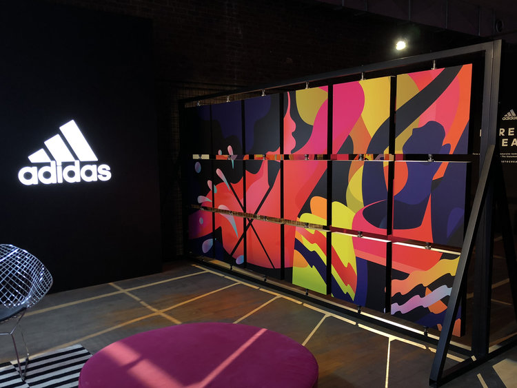 Photographie du projet Adidas.