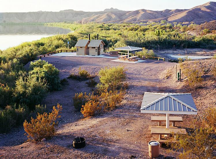 Photographie d'un parc national aux États-Unis.
