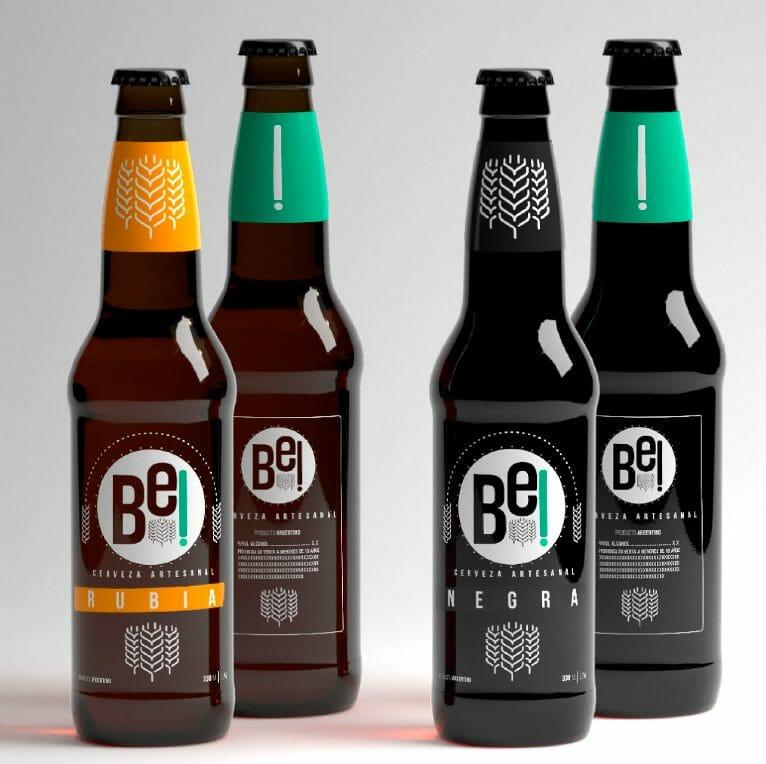 Bières artisanales illustrées par Pablo Gerardo Camacho