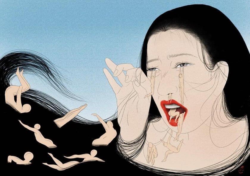 Illustration réalisée par Miki Kim