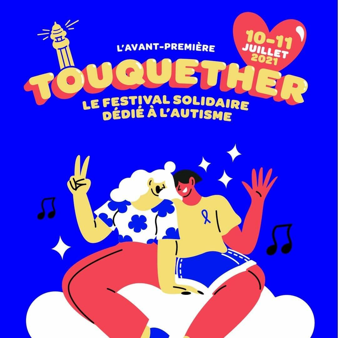Affiche promotionnel pour le Toquether Festival.