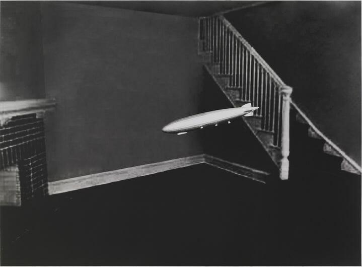 Photo réalisé par l'artiste américain David Lynch