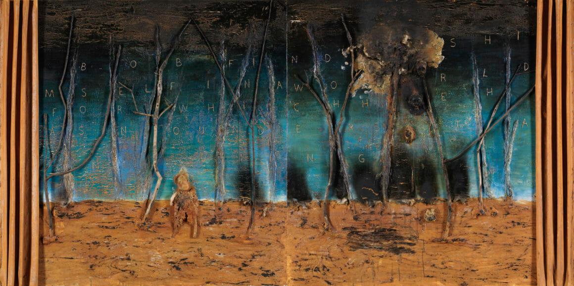 Tableau peint par le peintre et cinéaste américain David Lynch