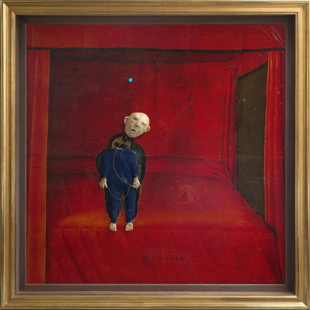 Tableau réalisé par l'artiste américain David Lynch
