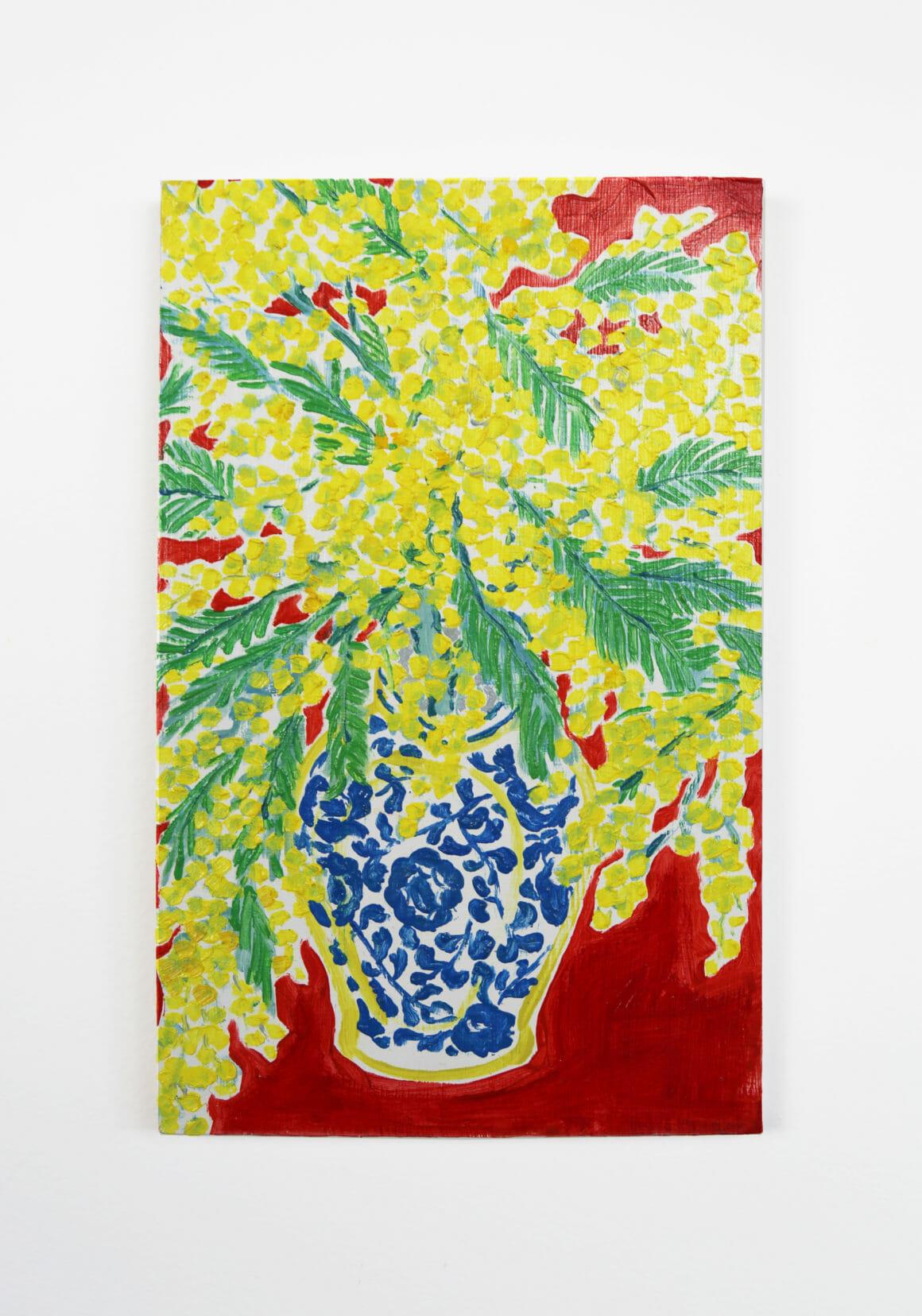 Miriam Dema, fleurs jaunes