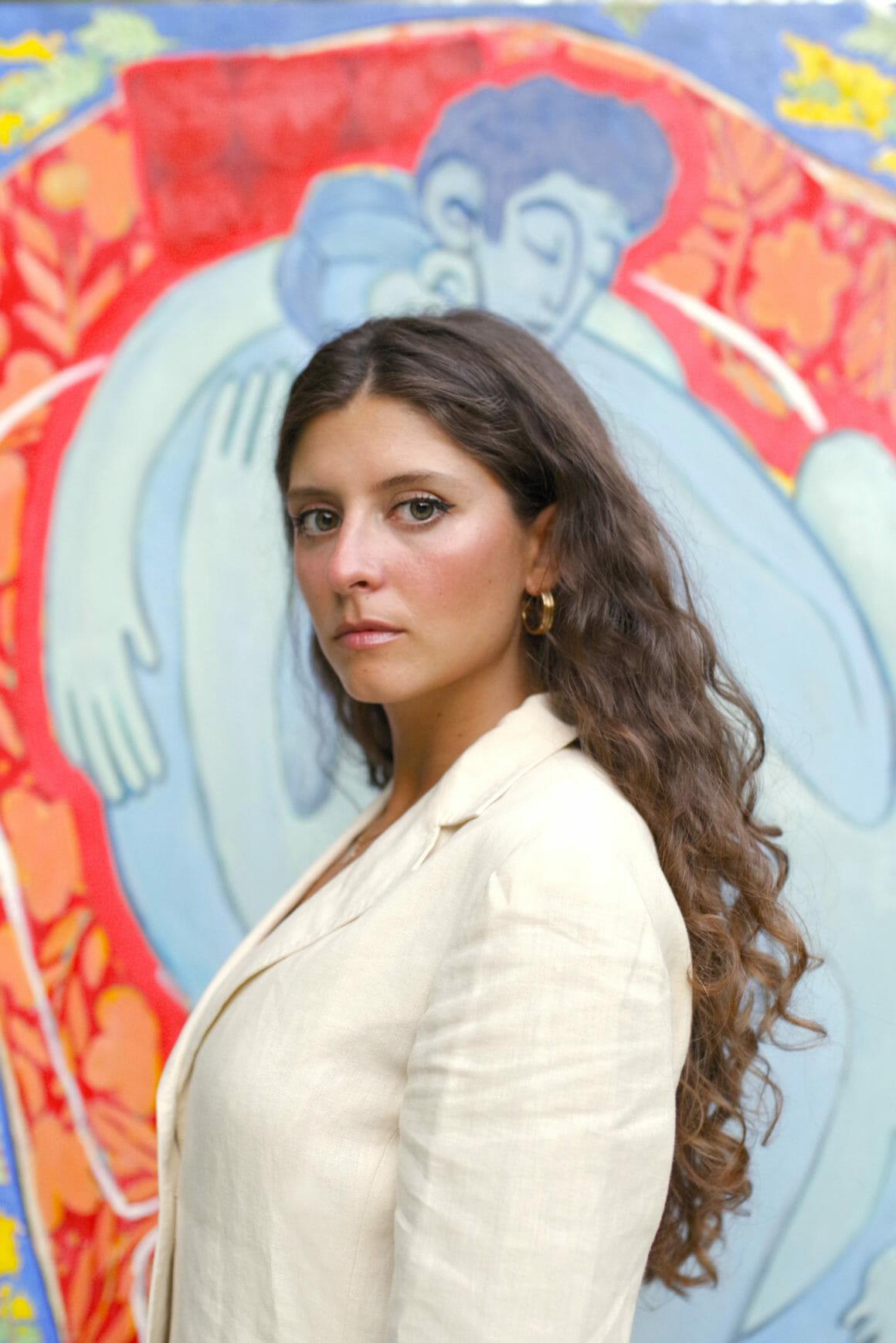 Portrait de l'artiste Miriam Dema