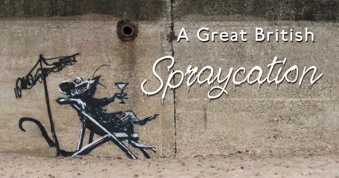 Banksy revendique des œuvres apparues sur la côte anglaise 1