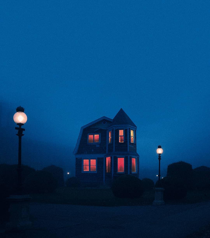 maison hantée, chaud et froid