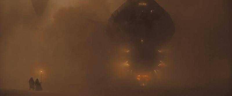 La scène d'introduction du film Dune au cinéma
