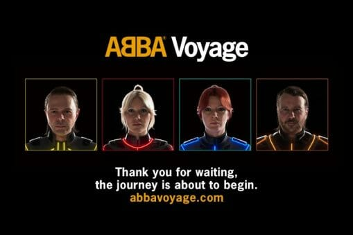 Le groupe mythique ABBA nous embarque dans un voyage futuriste 3