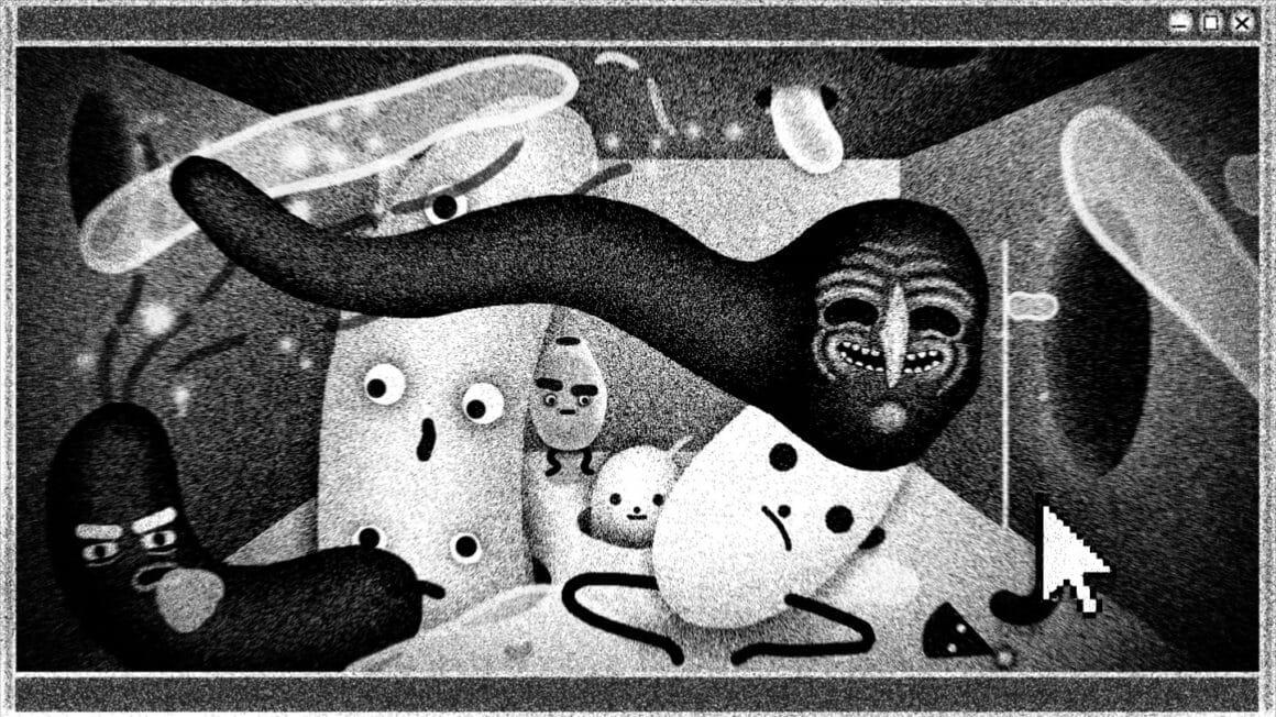 Elenor Kopka créations noir et blanc