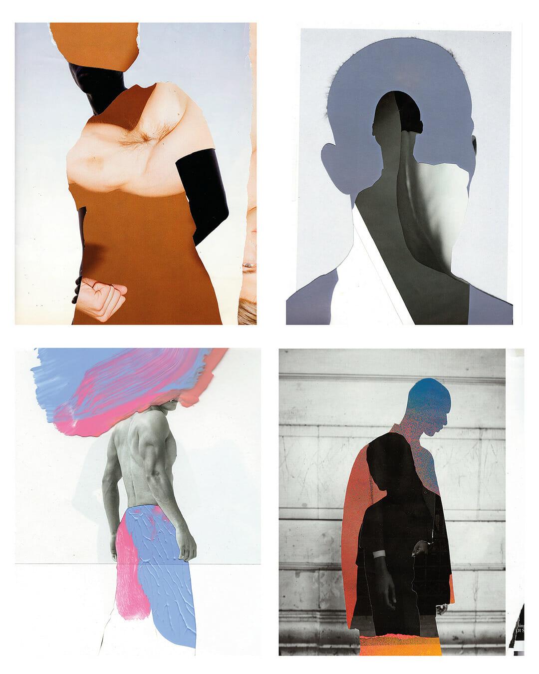 Collage masculinités Julen Iztueta