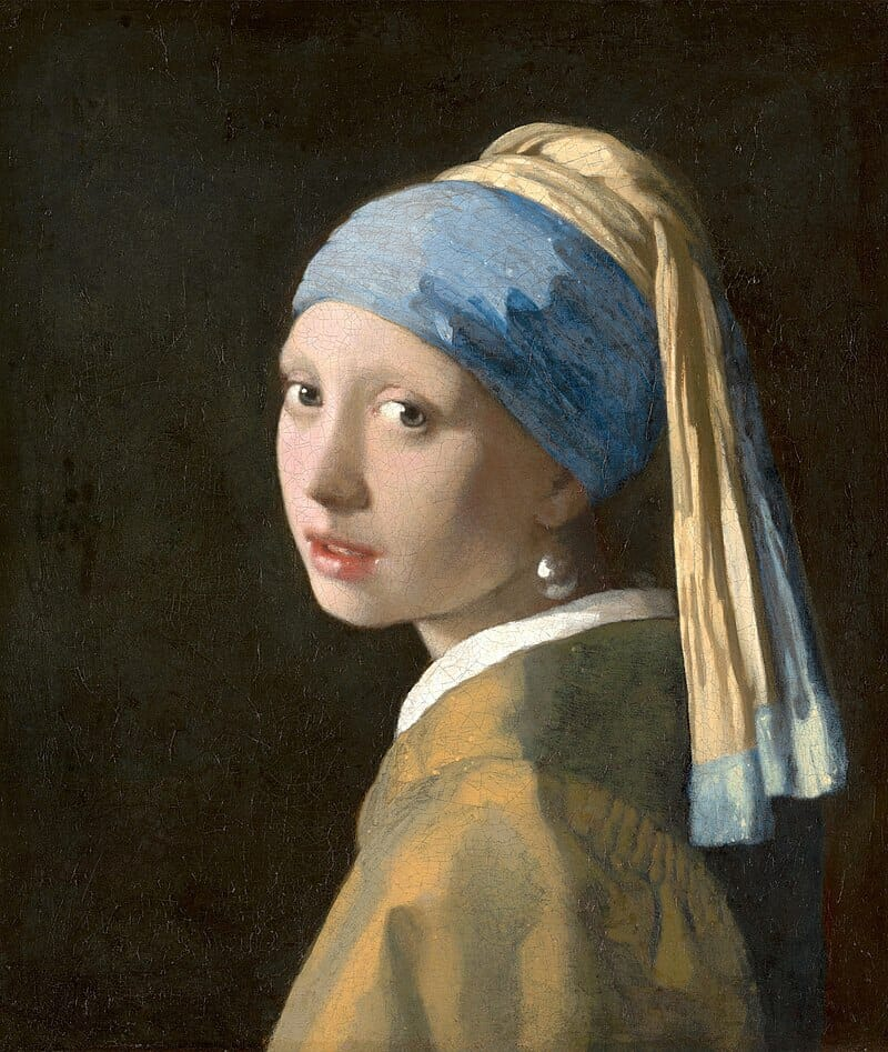 La jeune fille à la perle, Johannes Vermeer