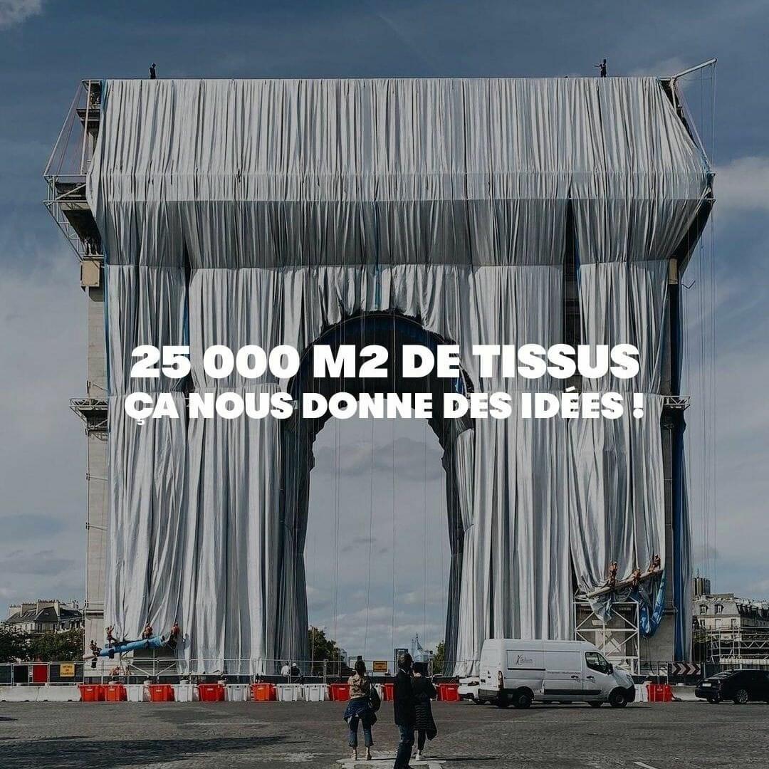 Et si on upcyclait le dernier Christo et Jeanne-Claude ? 2